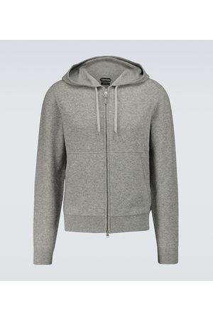 Tom Ford Men Hoodies - Cashmere-blend zipped sweater