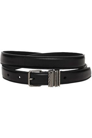 Saint Laurent Men Belts - Leather Belt