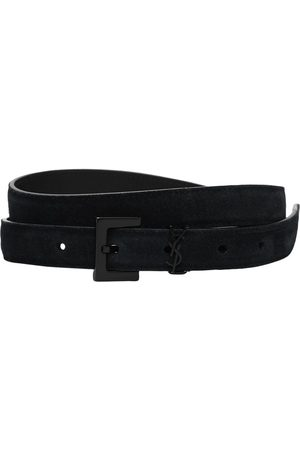 Saint Laurent Men Belts - Ysl Leather Belt