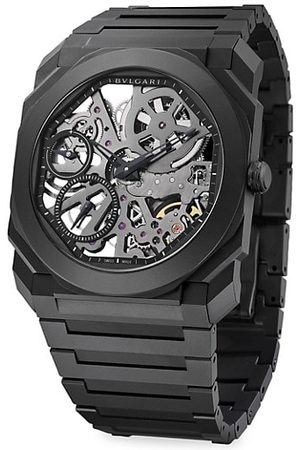 Bvlgari Octo Finissimo Extra-Thin Ceramic Bracelet Skeleton Watch