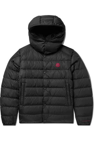 Moncler Dabos Convertible Logo-Appliquéd Quilted ECONYL Hooded Down Jacket