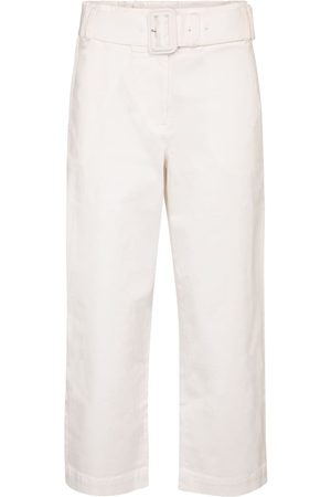 Proenza Schouler Belted high-rise cotton pants