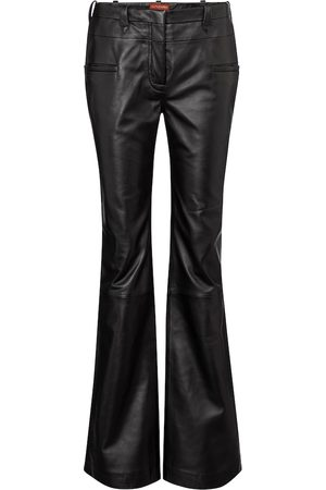 Altuzarra Serge high-rise flared leather pants