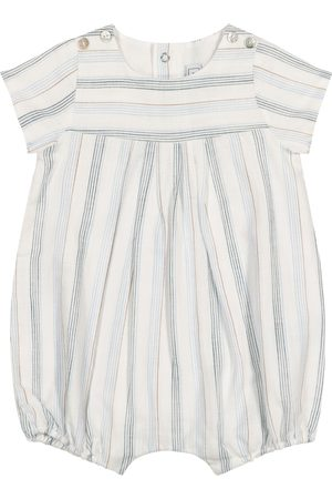 Tartine Et Chocolat Baby striped cotton onesie
