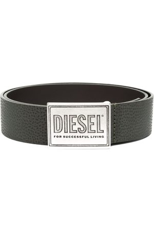 Diesel Debossed buckle belt