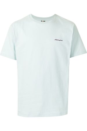 A BATHING APE® Embroidered-logo cotton T-Shirt