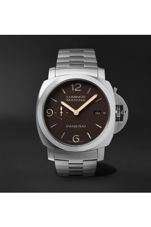 PANERAI Men Watches - Luminor 1950 Marina 44mm Automatic Titanium Watch, Ref. No. PAM00352