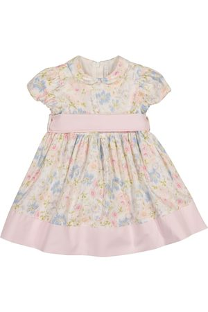 Il gufo Baby floral cotton dress