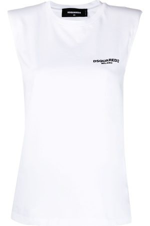 Dsquared2 Logo-print sleeveless top
