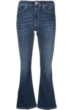 Dondup Women Bootcut & Flares - Flared cropped jeans