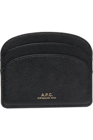 A.P.C. Demi-Lune leather cardholder
