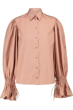 Alaïa Cotton poplin shirt