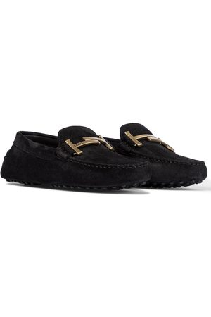 Tod's Women Loafers - Gommino Double T suede loafers