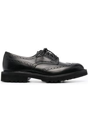 TRICKERS Embossed derby shoes