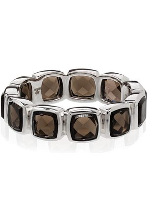 TOM WOOD Quartz-embellished band ring