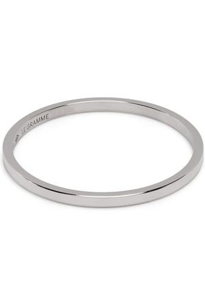 Le Gramme Engraved logo ring