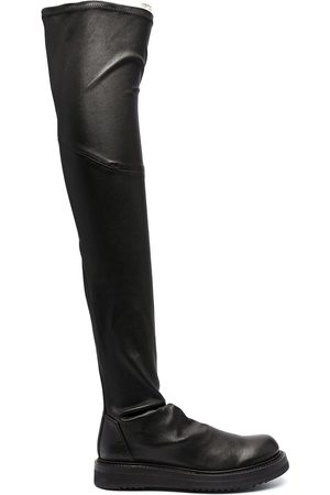 Rick Owens Women Knee High Boots - Creeper Stocking knee-high boots