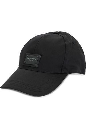 Dolce & Gabbana Men Caps - Logo patch cotton cap