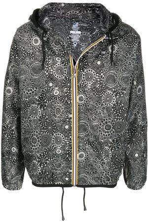 10 CORSO COMO X K-Way graphic-print raincoat