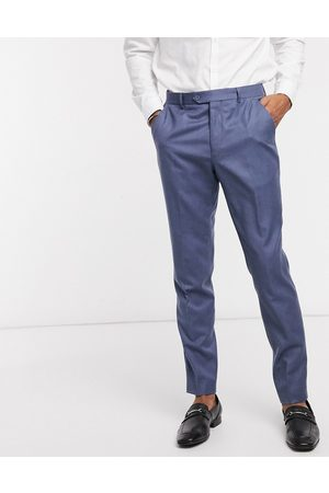 Ted Baker Kamchat skinny fit debonair fashion flannel smart trousers