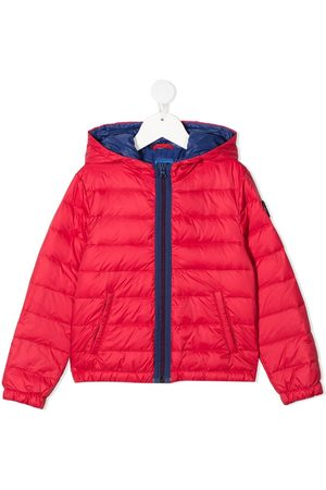 FAY KIDS Padded zip-up down jacket