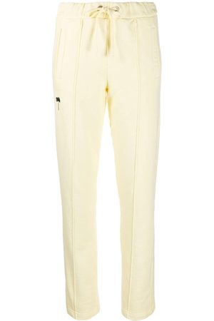 Palm Angels WOMEN'S PWCA045F20FLE0011910 COTTON JOGGERS