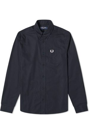 Fred Perry Authentic Button Down Oxford Shirt Navy