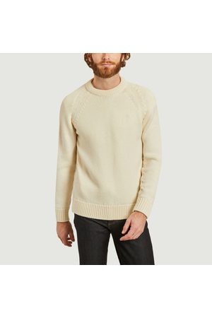 L'Exception Paris Men Jumpers - Italian wool jumper made in France Blanc