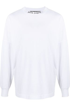 Palm Angels CLASSIC LOGO OVER TEE L/S BLACK