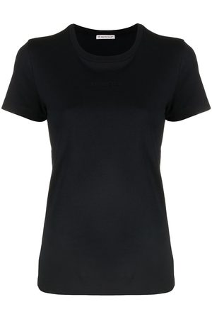 Moncler Embroidered-logo T-shirt
