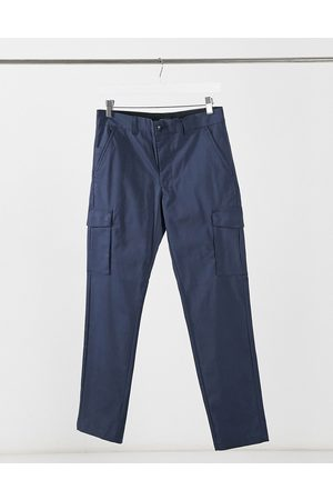 Jack & Jones Intelligence clean smart slim cargo trousers in