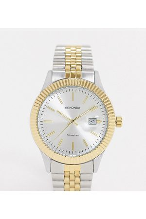 Sekonda Bracelet watch in mixed metal exclusive to Asos
