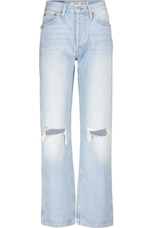 RE/DONE Loose high-rise straight jeans