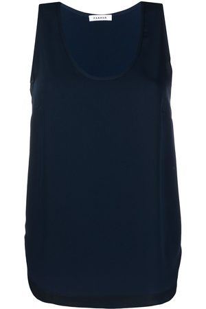 P.a.r.o.s.h. Sleeveless scoop neck blouse