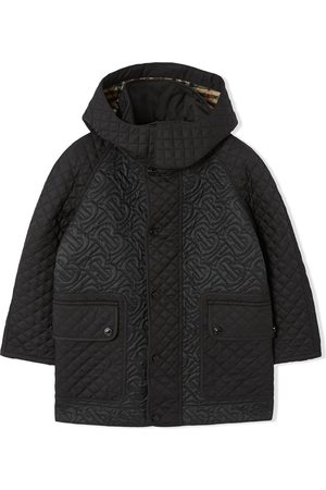 Burberry Detachable hood monogram coat