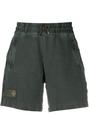 Mr & Mrs Italy Embroidered logo shorts