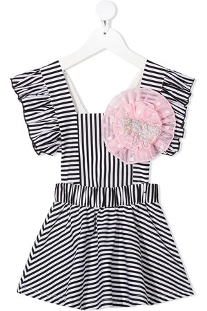 Wauw Capow by Bangbang Elsie striped cotton dress