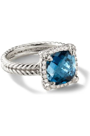David Yurman Women Rings - Chatelaine diamond pavé bezel ring