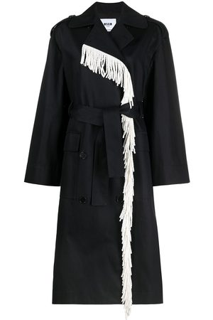 Msgm Double-breasted trench coat