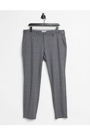 Only & Sons Trousers in slim fit grey check