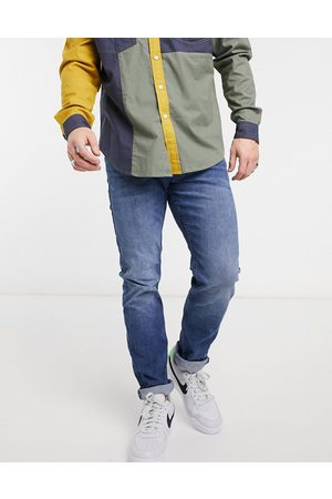 TOM TAILOR Slim piers jeans in mid wash