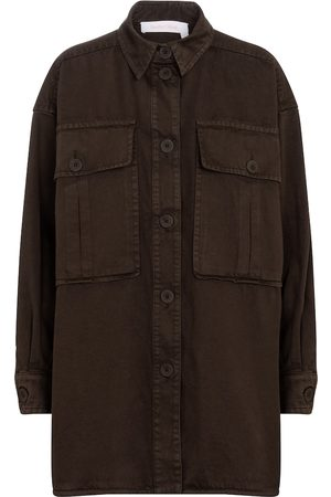 Chloé Oversized shirt jacket