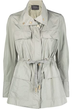 Lorena Antoniazzi Women Jackets - Tie-waist windbreaker jacket