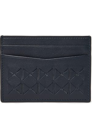 SERAPIAN Woven Leather Cardholder