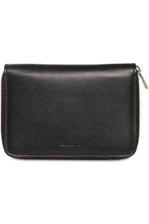 Jil Sander Leather Zip Around Wallet