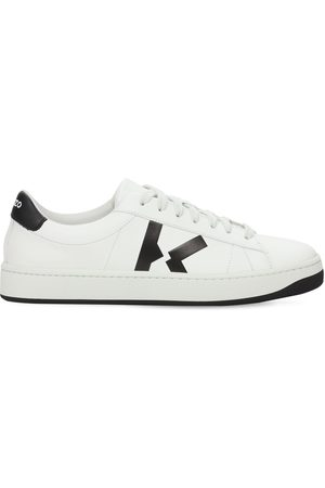 Kenzo 20mm Court Leather Low Top Sneakers