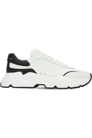 Dolce & Gabbana 50mm Leather Running Sneakers