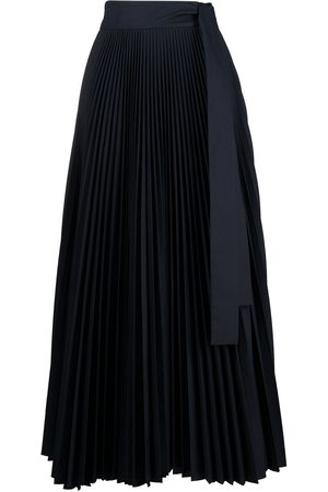 P.a.r.o.s.h. Women Maxi Skirts - High-waisted pleated maxi skirt