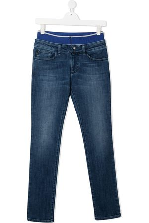 Emporio Armani TEEN stretch-waist denim jeans