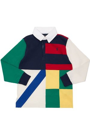 Ralph Lauren Printed Cotton Piquet Polo Shirt
